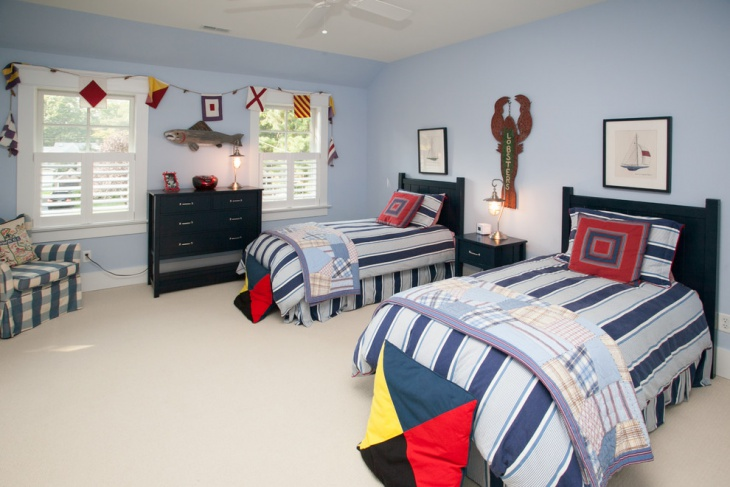 tween nautical bedroom design