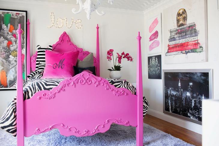 Tween Girl Gothic Bedroom