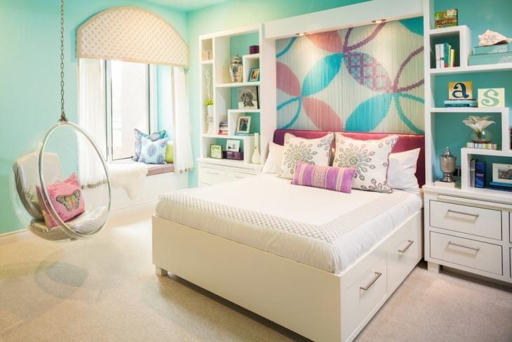Free Space Tween Girl Bedroom