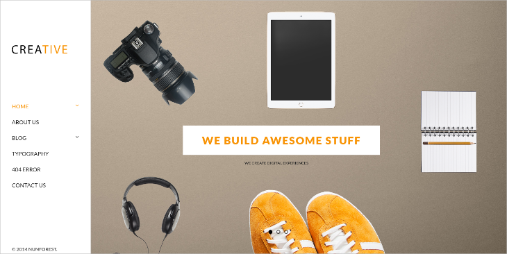Creative Photography HTML5 Template