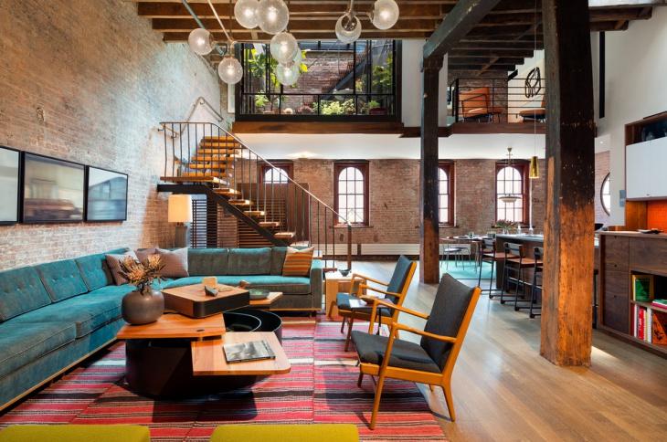 Loft Industrial Home Design