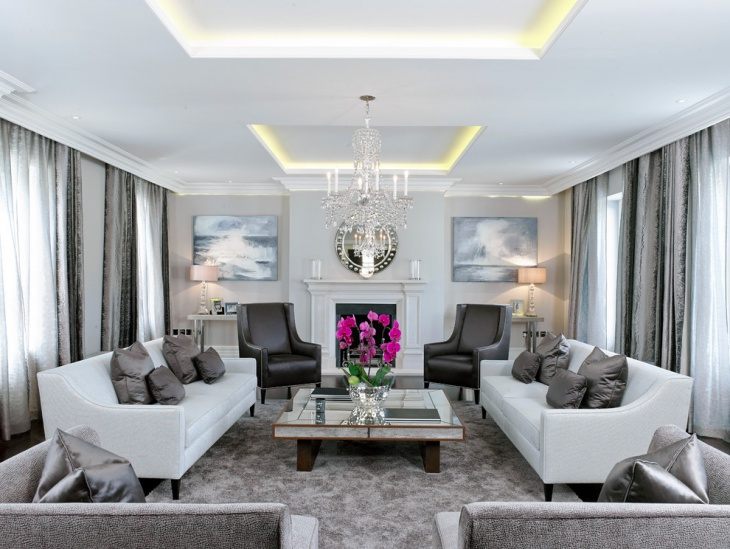 living room ceiling chandelier