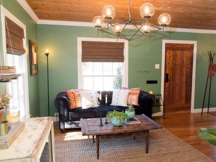 cottage living room bulb chandelier