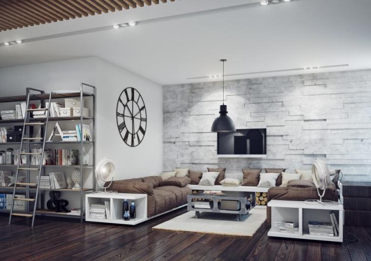 Classic Living Room Black Pendant Chandelier