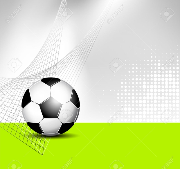 Abstract Soccer Ball Texture