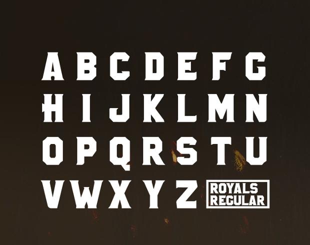 royal free font