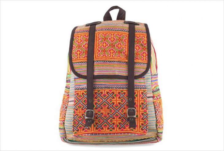 handmade tribal backpack