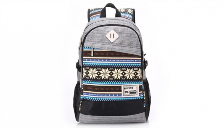 vintage tribal backpack