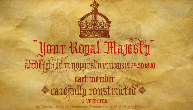 royal majesty font