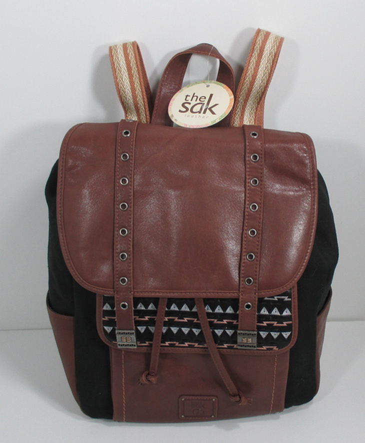 tribal print small backpack