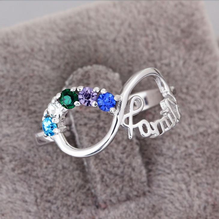 custom birthstone ring