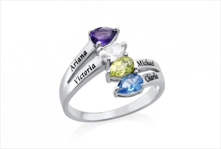 sterling silver custom ring
