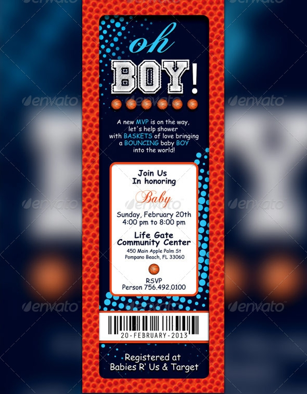 custom raffle ticket flyer