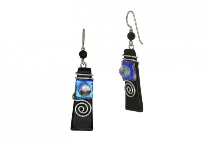 Dichroic Glass Jewelry Design