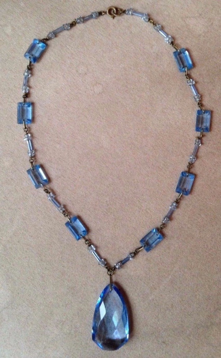 Antique Glass Necklace