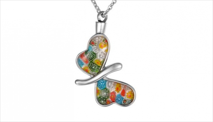 Butterfly Glass Pendant Design