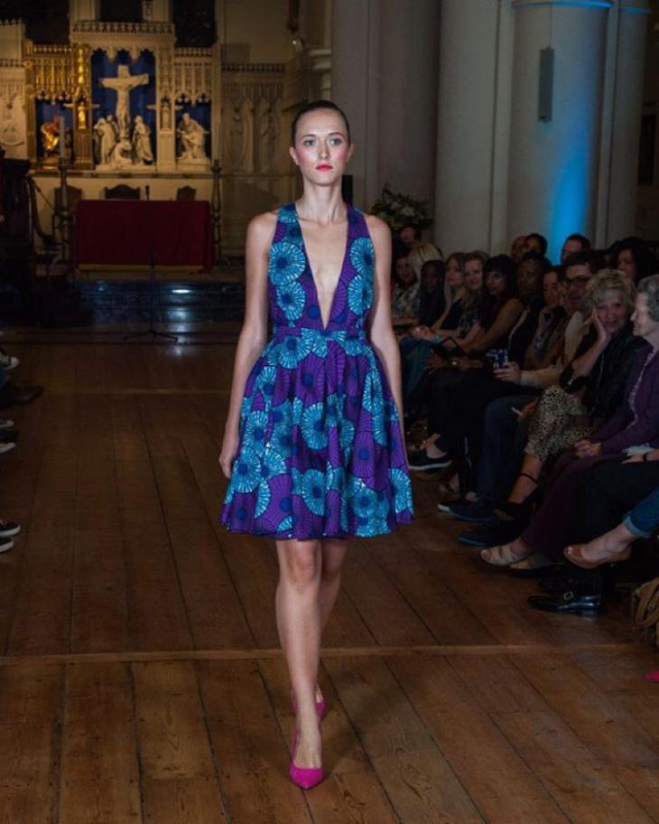 Cute Plunge Dress Design
