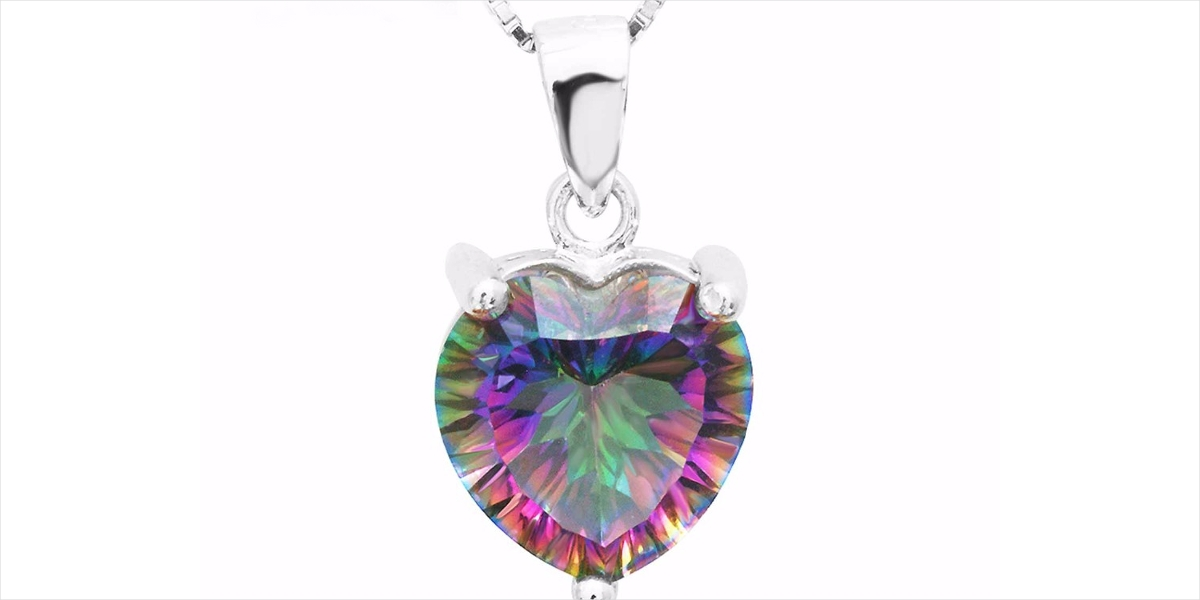 mystical dream heart pendant