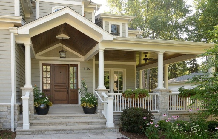 traditional front porch design