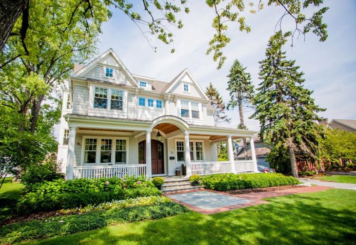 modern front porch extrioir design