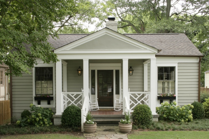 small enclosed front porch idea