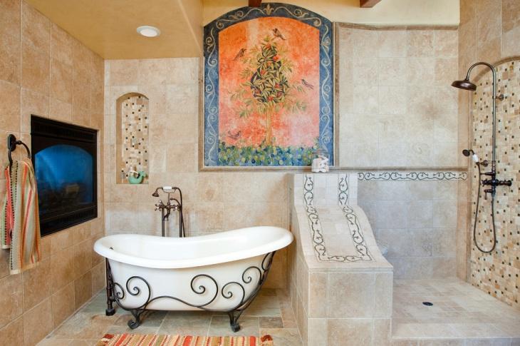antique clawfoot bathtub idea