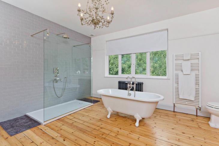 modern clawfoot bathtub