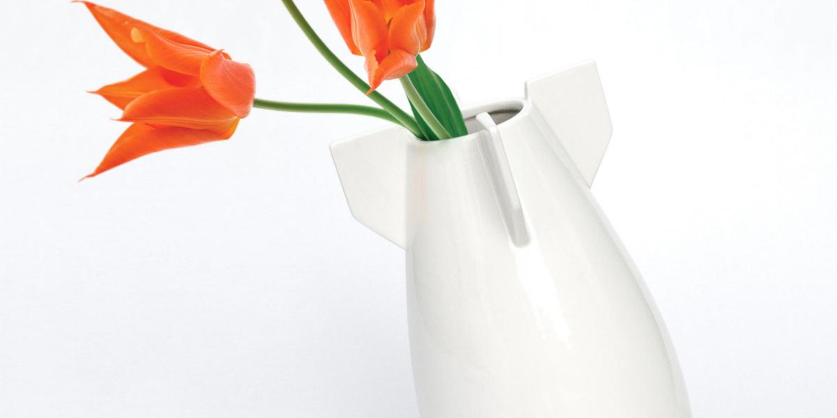 sleek Peaceful Bomb Vase