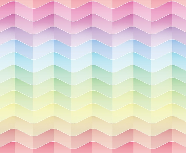 pastel rainbow background design