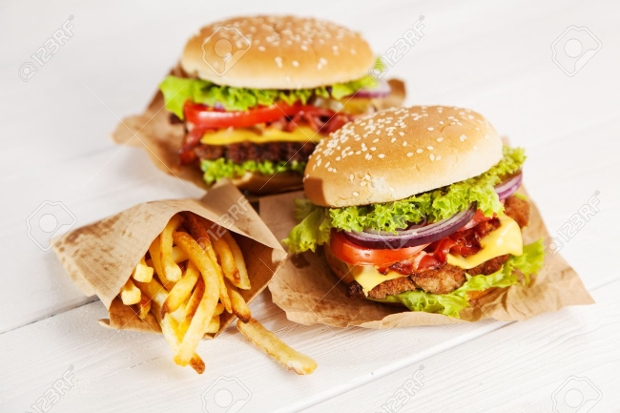 fast food background design