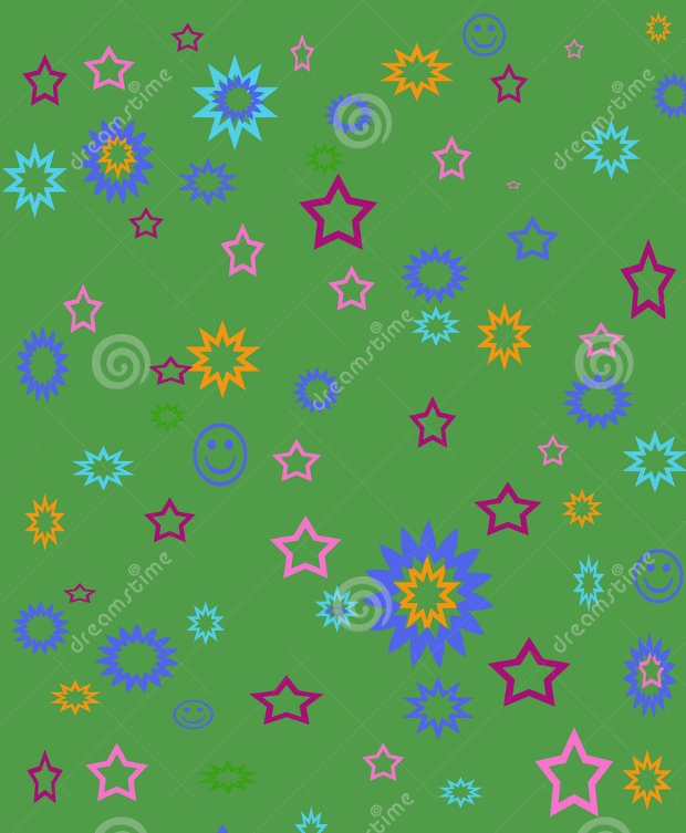 funky green background design