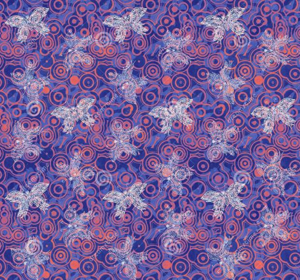 purple butterfly background design