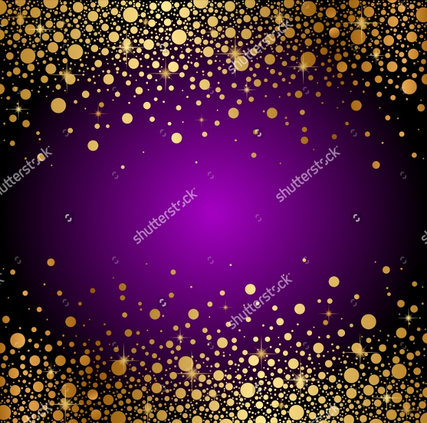 purple and gold background design