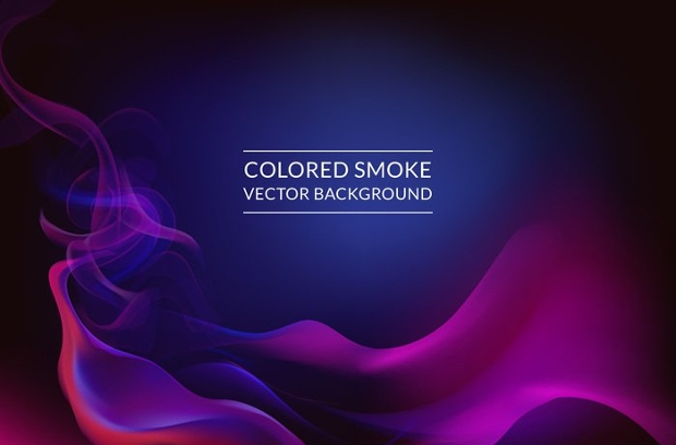 colorful smoke background design