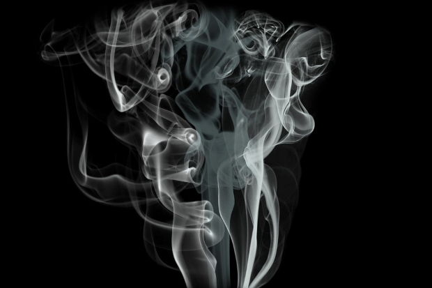 black smoke background