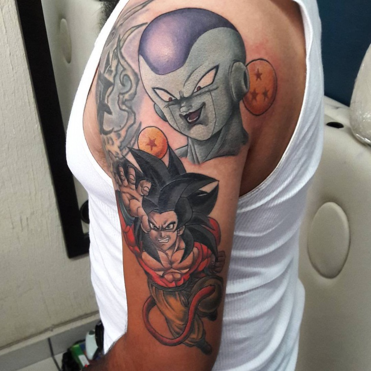 Dragon Ball Tattoo Forearm