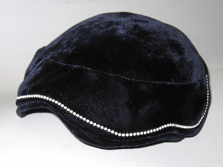 Beaded Flapper Hat