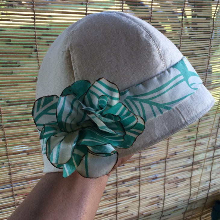 handmade flapper hat design