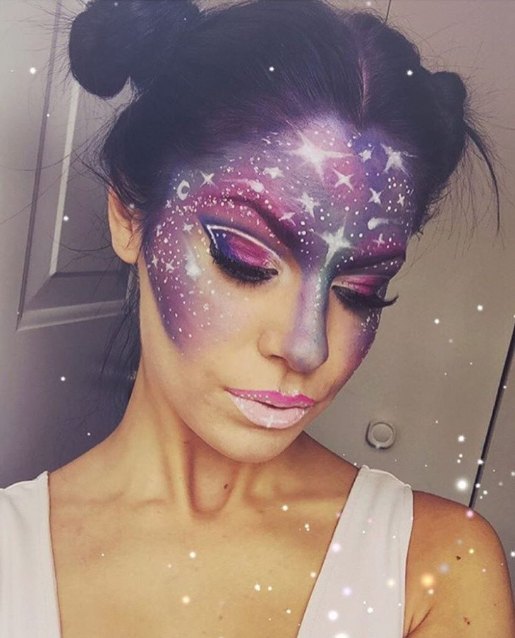 galaxy princess makeup