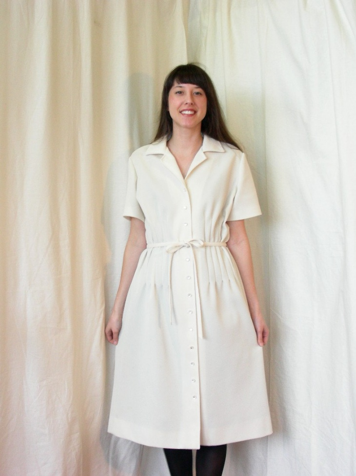 Tie Front Wrap Dress