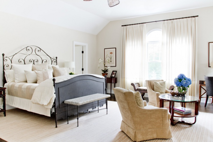 small traditional master bedroom