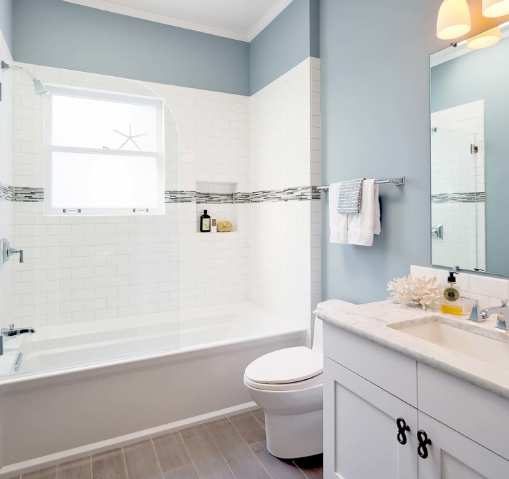Small Guest Bathroom Design