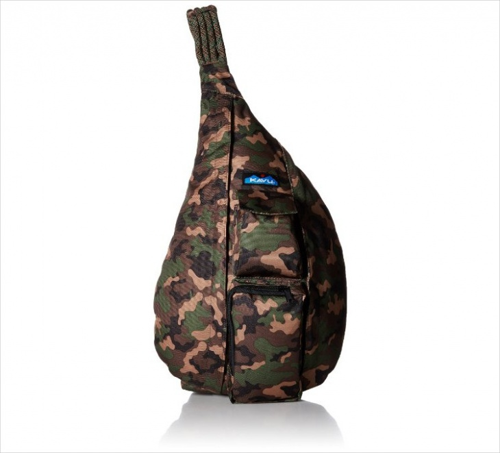 Camo Sling Backpack Design
