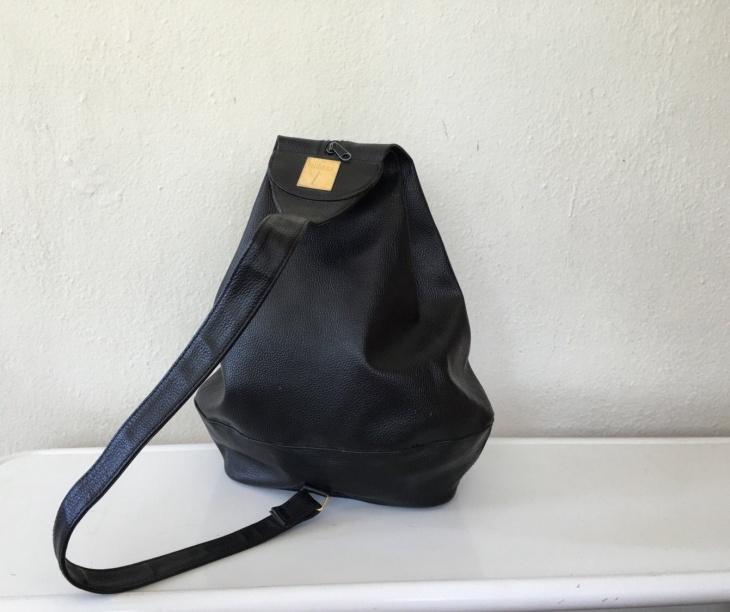 Black Sling Backpack Idea