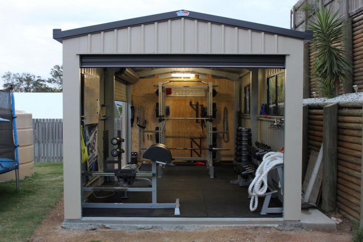 Home Gym Design: 16+ Garage Gym Designs, Ideas