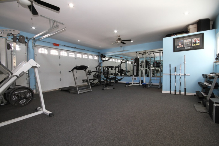 victorian garage gym design