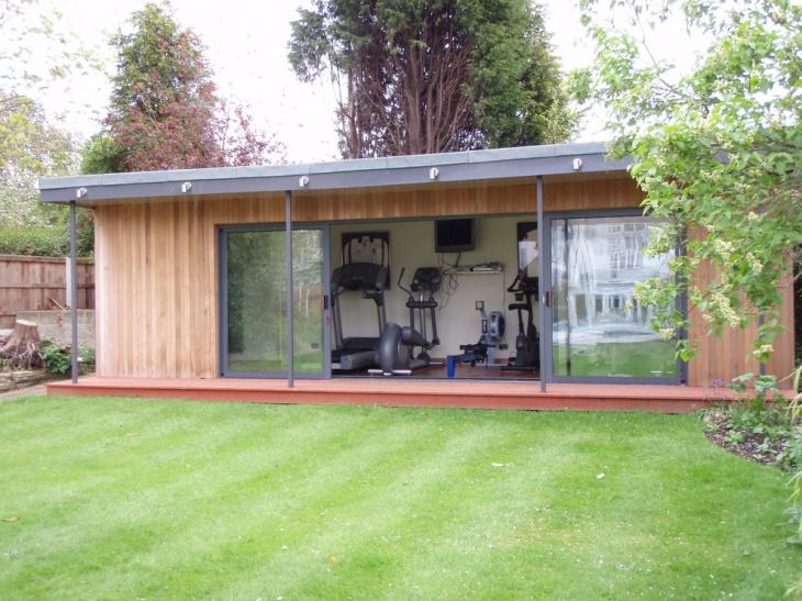 asian garage gym ideas