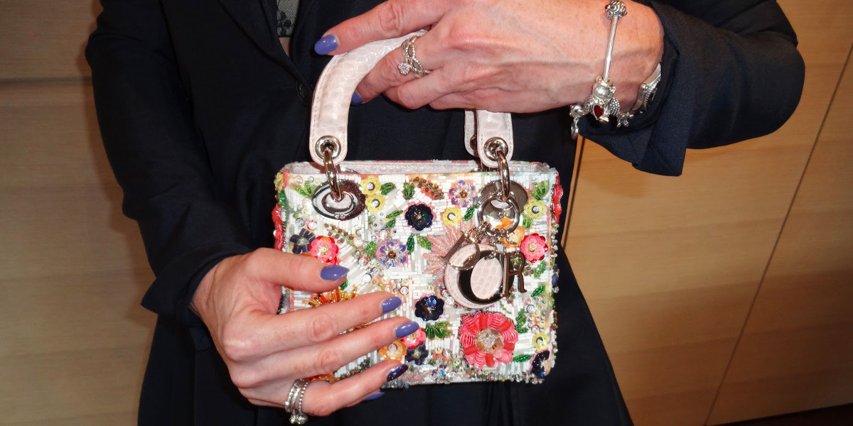 floral mini miss dior bag