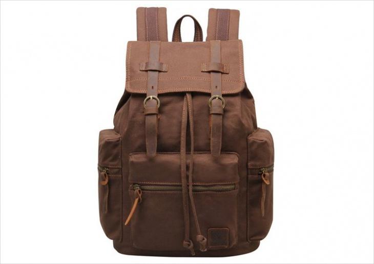 vintage drawstring backpack