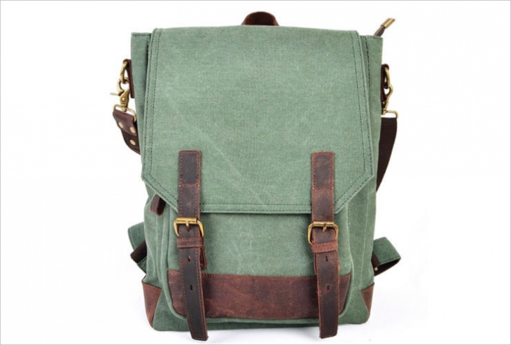 vintage laptop backpack